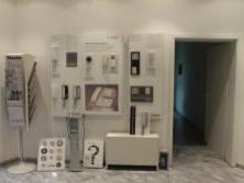 Produktausstellung im Eingangsbereich